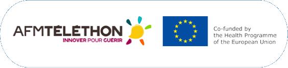 AFM Telethon and EU logos